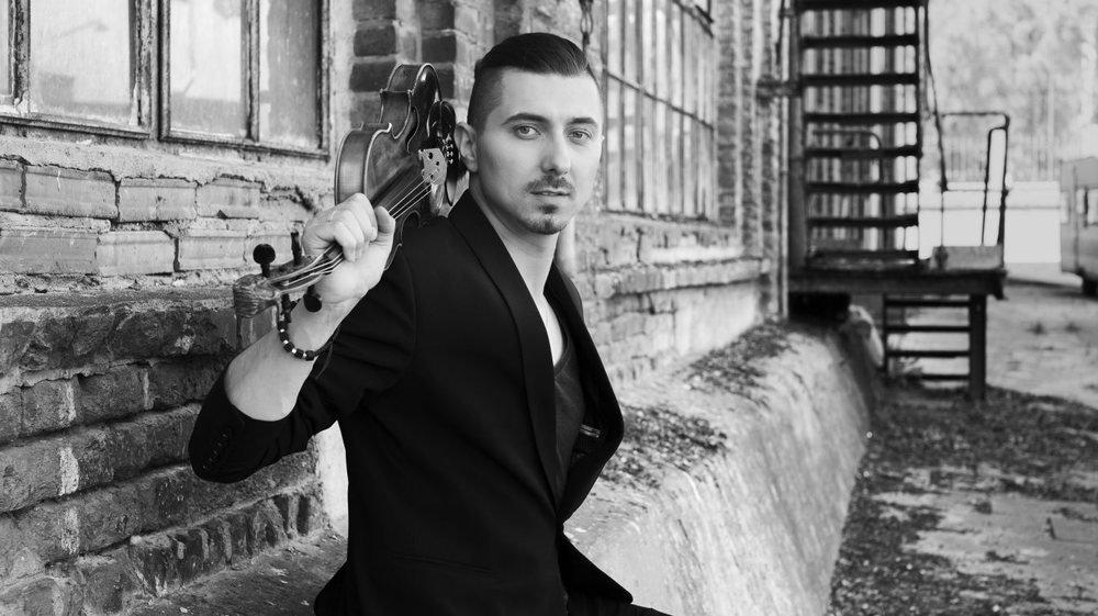 Le violoniste Adam Baldych, en concert à l'Heure bleue ce vendredi 23 mai, clôture la saison des Murs du son.