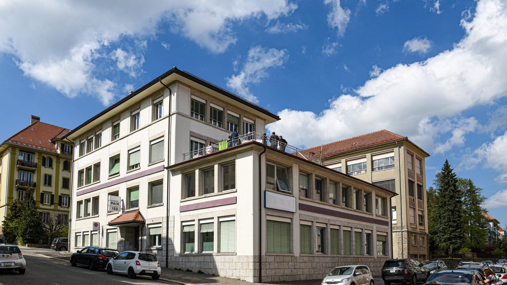 Depuis janvier, le centre de prévention et traitement des addictions (CPTT), le centre neuchâtelois d'alcoologie (Cenea) et la Balise ont déménagé rue de la Paix 133.