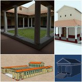 L'antique ville de Martigny en 3D