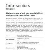 Info-seniors à Morges