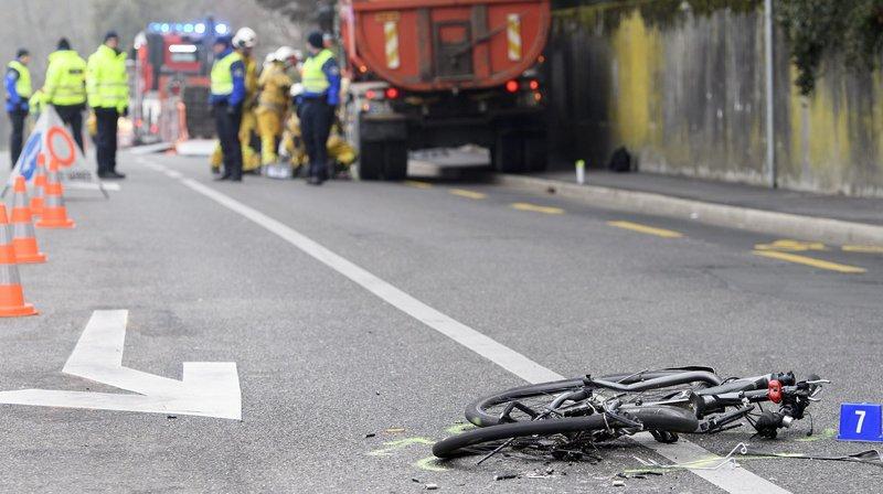 Neuchâtel: un cortège à vélo pour comprendre les accidents des cyclistes