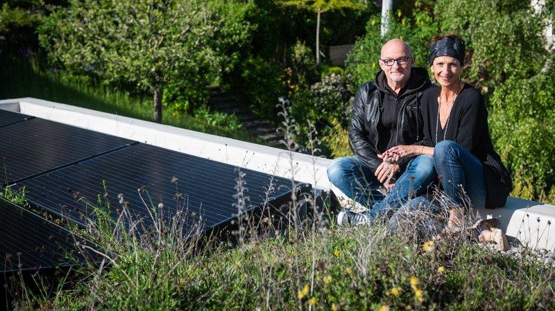 Pourquoi ces Neuchâtelois ont choisi de végétaliser leur toit