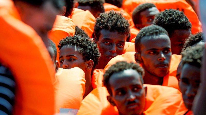 216 migrants secourus en mer au large de Malte