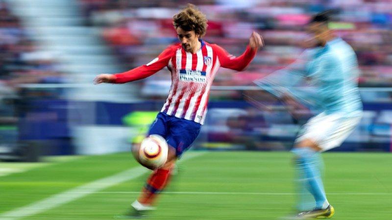 Football: le Français Antoine Griezmann annonce son départ de l'Atlético Madrid