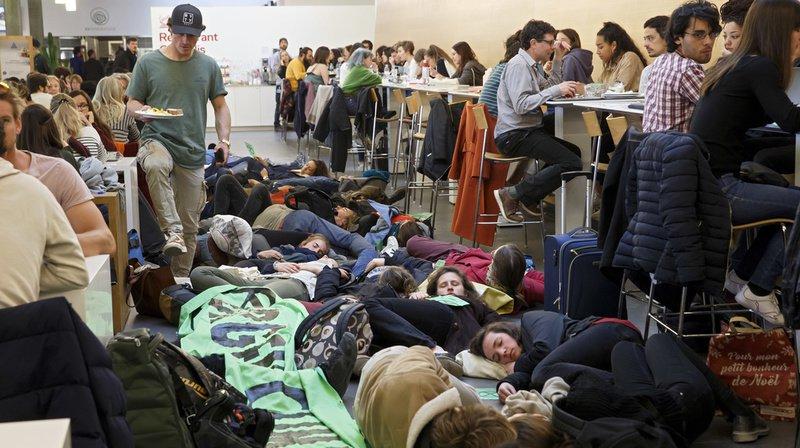 Extinction Rebellion a déjà organisé plusieurs die-ins en Suisse romande, ces dernières semaines.
