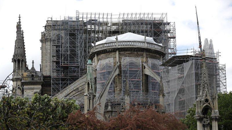 Le projet de loi pour la restauration de Notre-Dame divise l'Assemblée nationale française. Il a tout  de même été adopté vendredi en première lecture et devra passer au Sénat le 27 mai. (Archives)