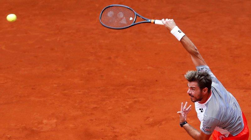 Le Vaudois a gagné en deux sets l'Argentin Guido Pella en 16e de finale du Masters 1000 de Madrid.