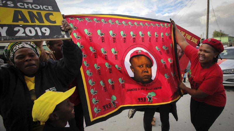 Afrique du Sud: l'ANC, le parti historique de Nelson Mandela, remporte les législatives