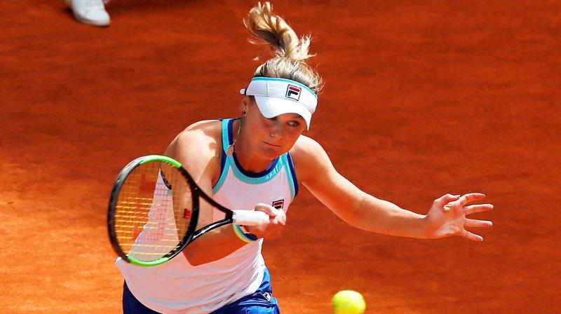 Belinda Bencic avait éliminé l'Ukrainienne Kateryna Kozlova en huitièmes de finale du tournoi de Madrid.