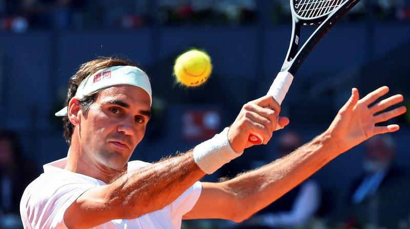 Roger Federer a gagné le premier set 6-0 contre le français Gaël Monfils en huitièmes de finale du Masters 1000 de Madrid.