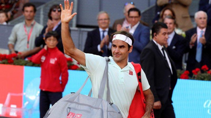 Tennis - Masters 1000 de Rome: Roger Federer sera de la partie