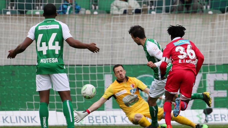 FC Sion a perdu 2-1 le match de Super League d'aujourd'hui face à Saint-Gall.