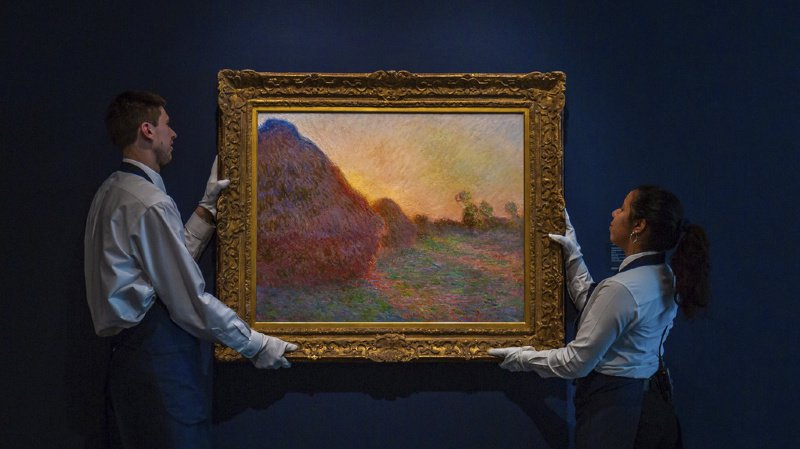 Peinture: un tableau de Monet vendu 111,6 millions de francs à New York