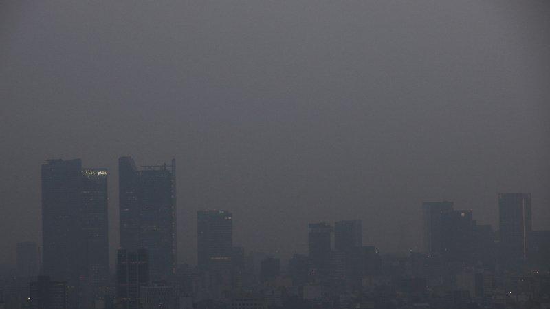 Mexique: le nuage de pollution est toujours présent, les écoles de Mexico restent fermées