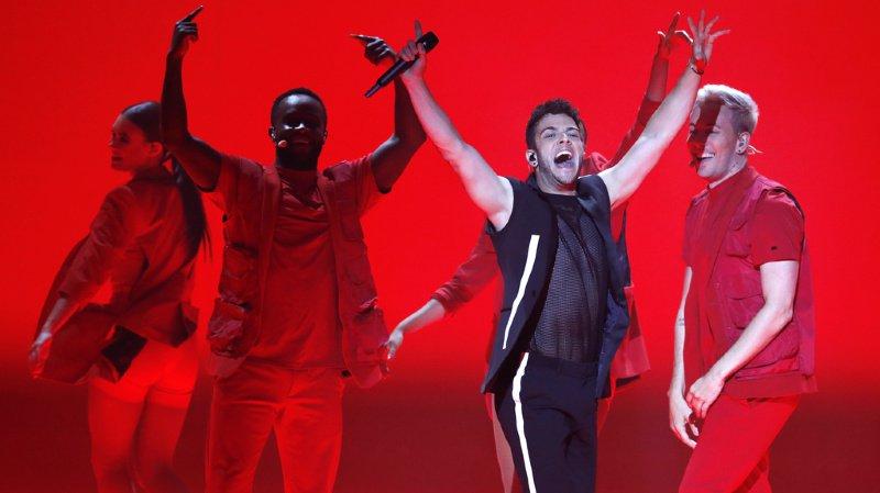 Musique: le Suisse Luca Hänni a terminé 4e de l'Eurovision, remporté par les Pays-Bas