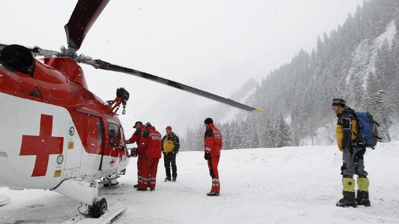 L'avalanche a emporté les sept personnes du groupe, dont quatre ont été blessées (illustration).