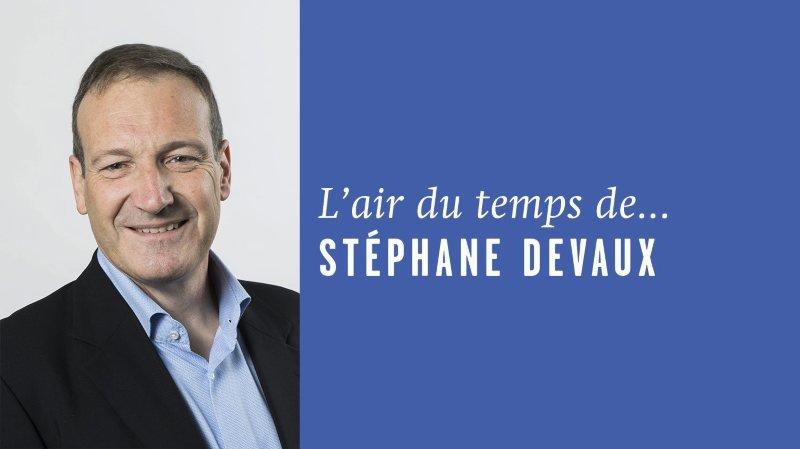 «Prendre les mots au pied de la lettre», l'air du temps de Stéphane Devaux