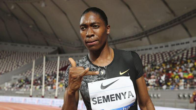 L'athlète sud-africaine Caster Semenya devra limiter son taux de testostérone.