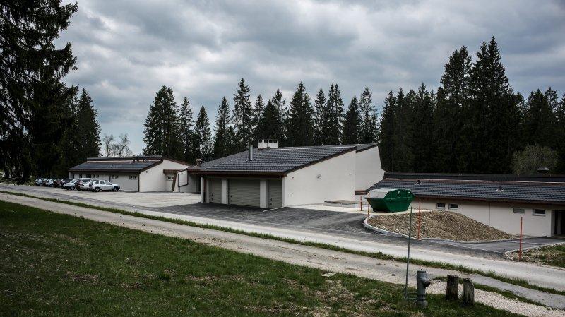 Le centre spécifique des Verrières n'accueille que quatre requérants d'asile par mois