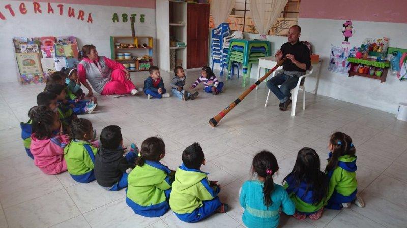 Au son des aborigènes - conception d'un Didgeridoo
