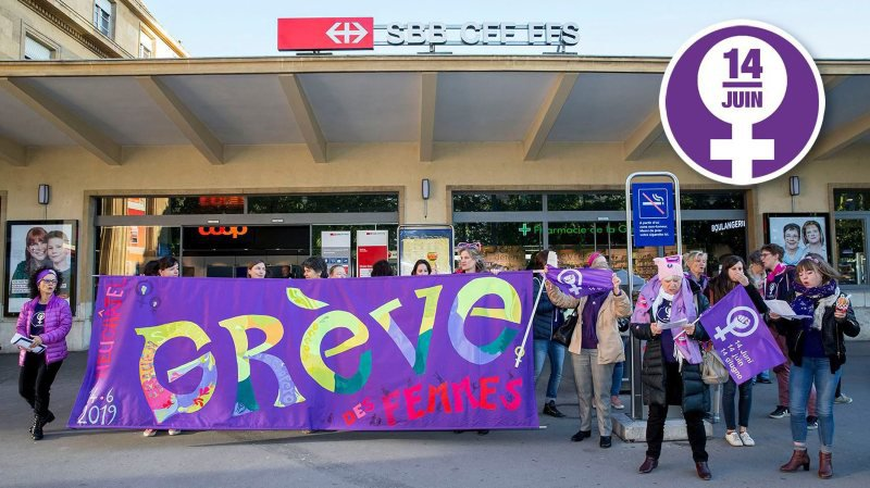 Neuchâtel: la grève du 14 juin se prépare... à ne pas déranger
