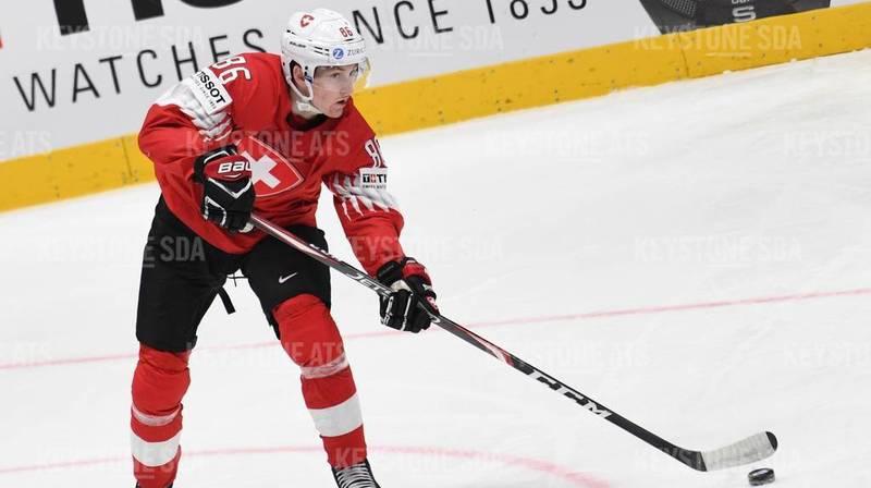 Le joueur Janis Moser s'est blessé au poignet lors du match contre l'Autriche.