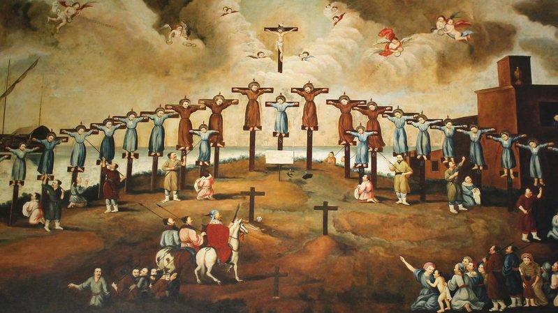 Au 17e siècle, les Japonais se tournent contre les missionnaires portugais, perçus comme des agents de l'étranger.
