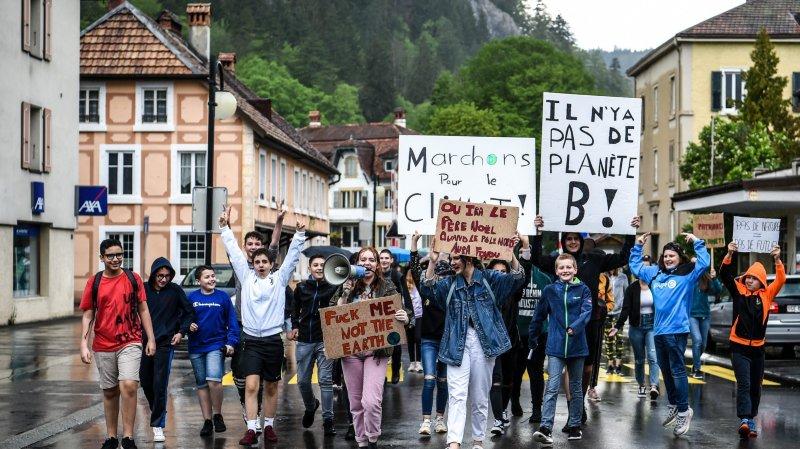 De jeunes Vallonniers se mobilisent pour le climat