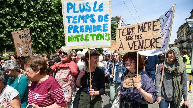 Neuchâtel: la mobilisation en faveur du climat s'essouffle
