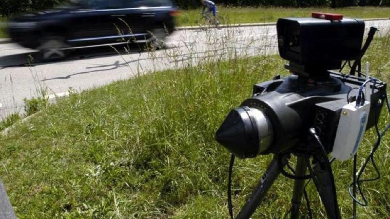 L'automobiliste a été flashé à 144 km/h sur un tronçon limité à 80.