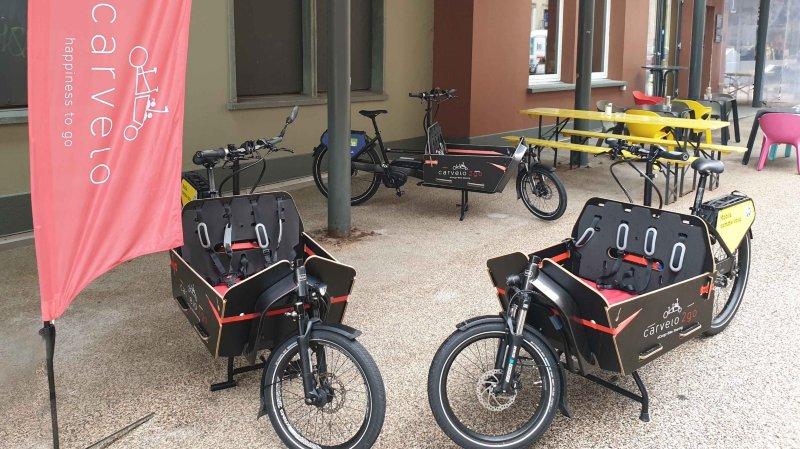 Des vélos-cargos électriques en location à La Chaux-de-Fonds