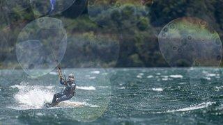 Le kitesurf, ce sport qui colore les Trois-Lacs