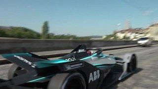 Sébastien Buemi en Formule-E dans les rues de Berne