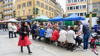 La fête du 40e anniversaire de la zone piétonne de Neuchâtel