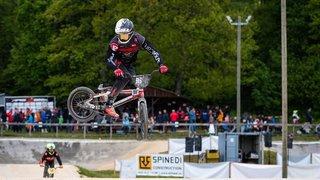Les BMX de Suisse romande se sont emboués avec bonheur à La Béroche