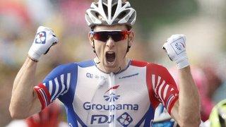 Cyclisme - Tour d'Italie: la 10e étape du Giro pour le Français Arnaud Démare