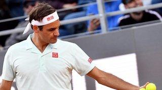 Tennis - Masters 1000 de Rome: blessé à la jambe droite, Roger Federer déclare forfait
