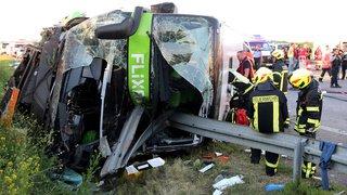 Allemagne: un mort et 60 blessés dans un accident de car Flixbus