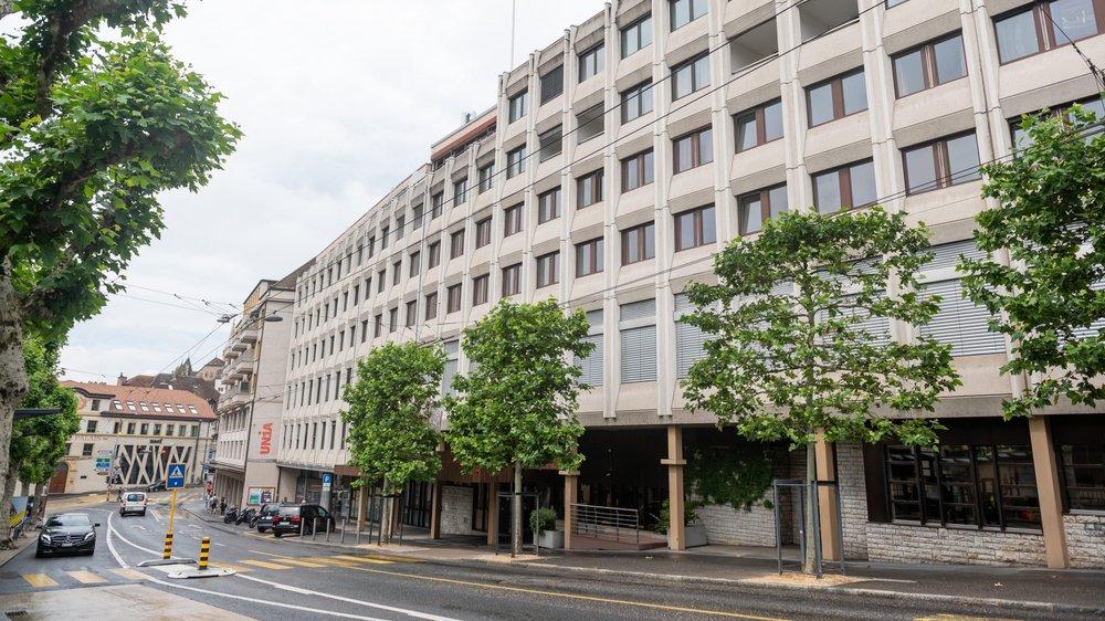 L'IHTTI School of Hotel & Design Management, sis à l'avenue de la Gare, devrait quitter Neuchâtel après 30 ans de présence en ville.