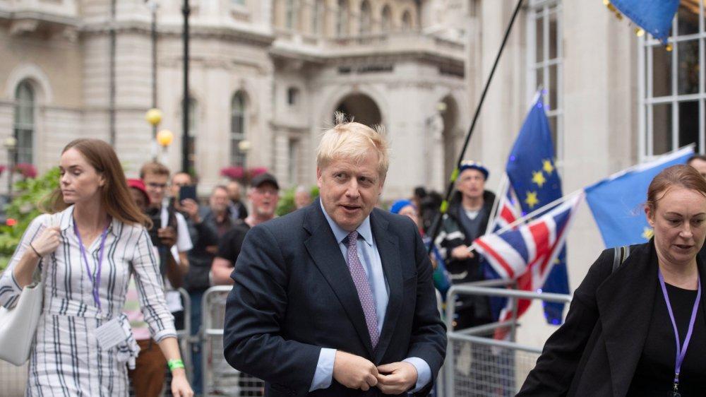 L'ex-ministre des Affaires étrangères, Boris Johnson, pourrait succéder à son ancienne patronne, Theresa May.