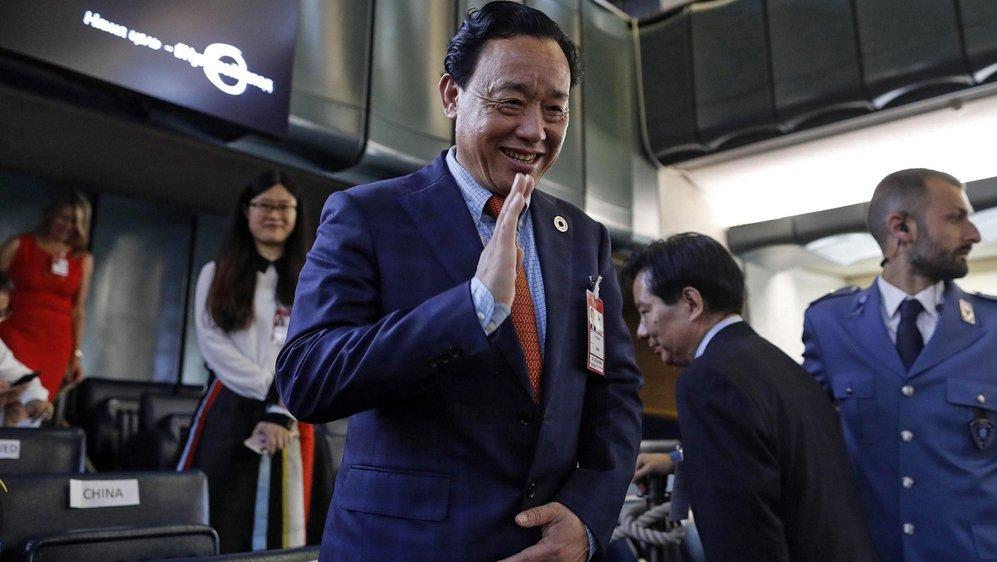 Le vice-ministre de l'Agriculture chinoise, Qu Dongyu, a été élu dimanche à la tête de l'Organisation des Nations unies pour l'alimentation et l'agriculture.
