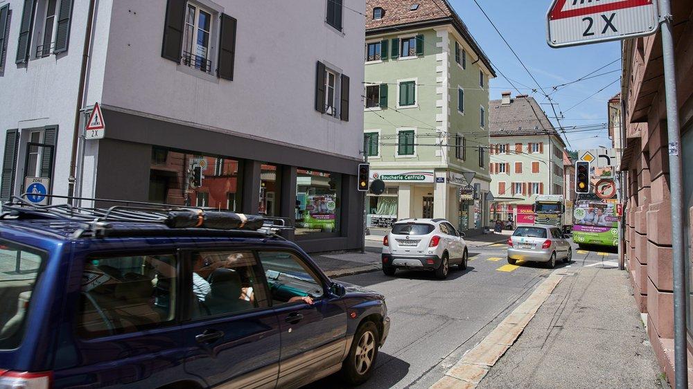 Dans dix ans, la très fréquentée rue de la Balance sera en zone piétonne.