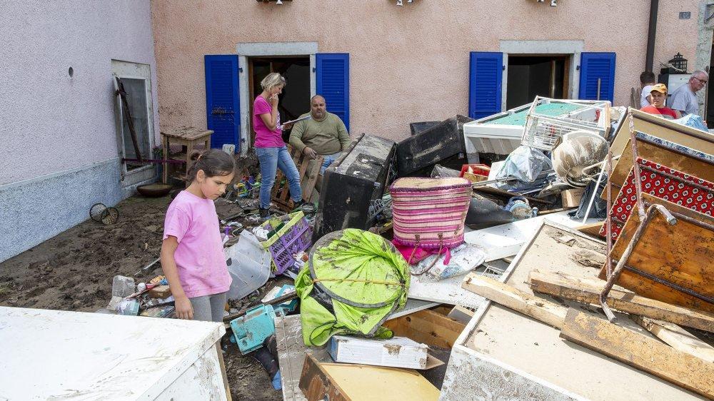 Depuis ce lundi matin, sept experts techniques de l'Ecap sillonnent la région pour faire un premier inventaire des dommages.