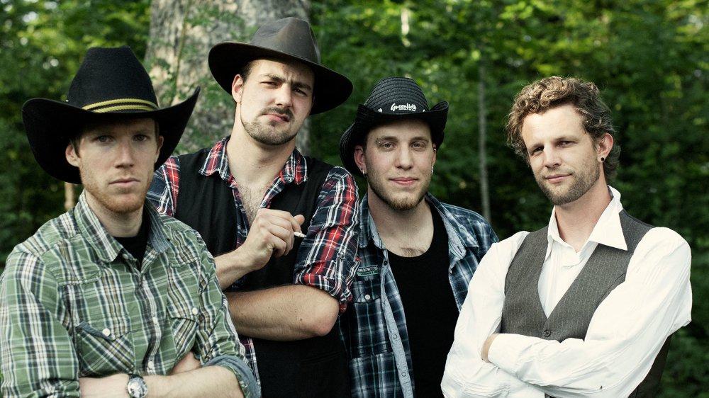 Le combo blues-rock de Timberjack, programmé vendredi sur la Grande Scène.
