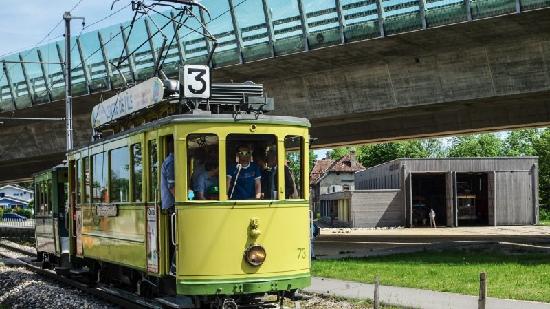 Areuse: le tram historique ne circulera pas cet été