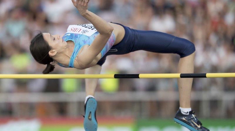 La Russe Mariya Lasitskene tentera de battre le record de la Pontaise qu'elle détient, avec un saut à 2 m 06 (archives).
