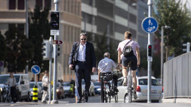 Mobilité: l'ATE veut un mètre de large, sur chaque route, réservé aux vélos