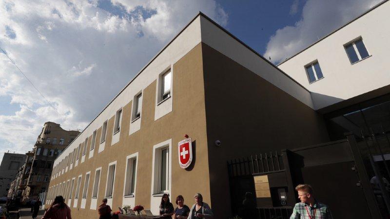La nouvelle ambassade se compose de deux bâtiments, l'un du 19e siècle, l'autre entièrement nouveau.