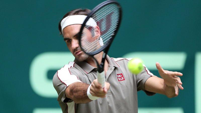 Tennis: Federer se qualifie pour le 2e tour du tournoi de Halle sans impressionner