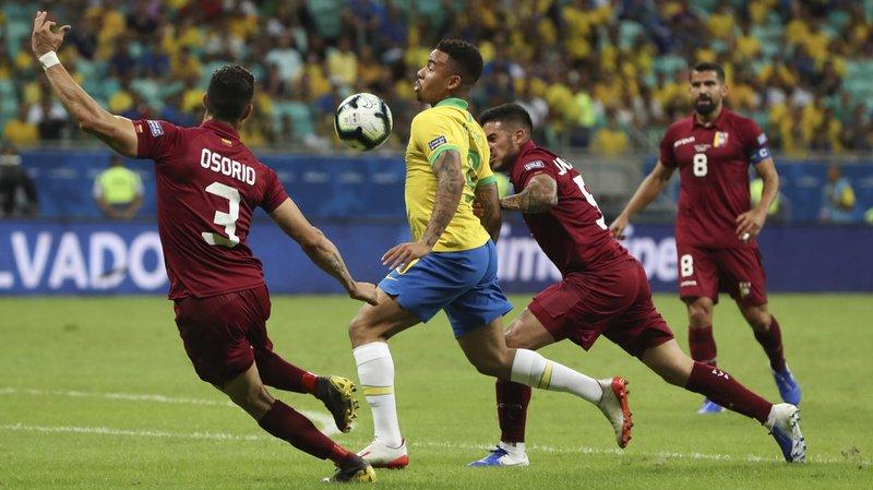 Le Brésil n'a pas réussi à s'imposer face au Venezuela.